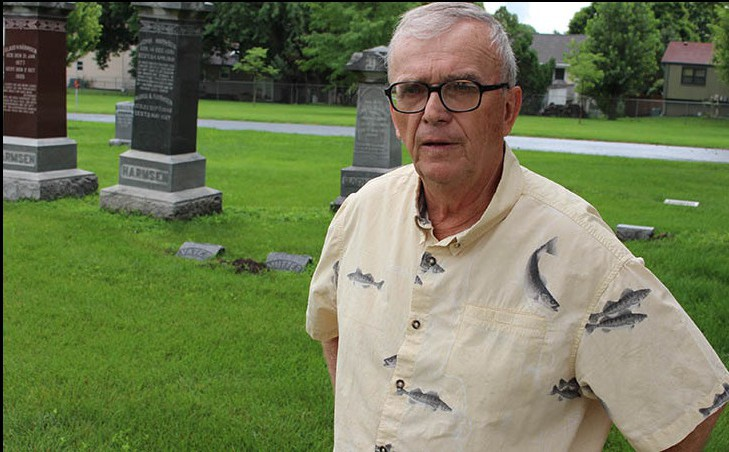 Retiree preserving memory of Civil War veterans