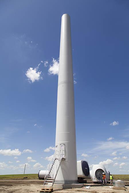ENV_Grand Prairie Event_up close tower
