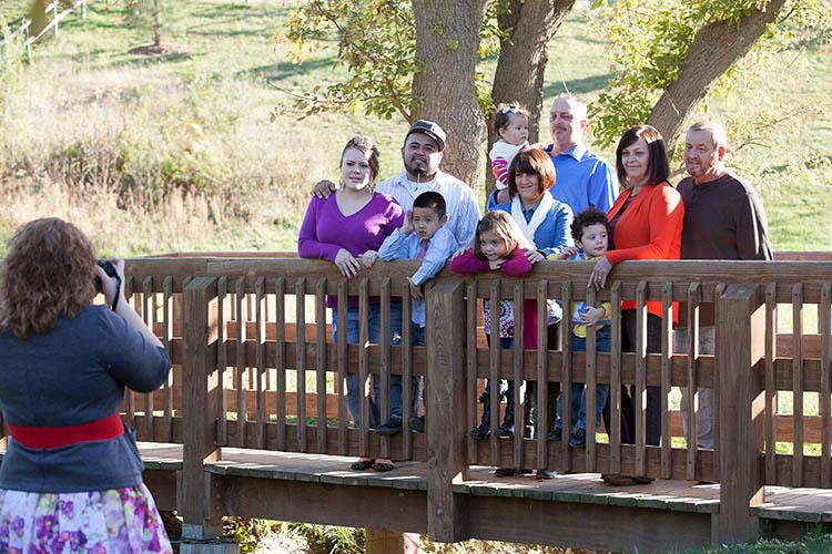 visitors arboretum