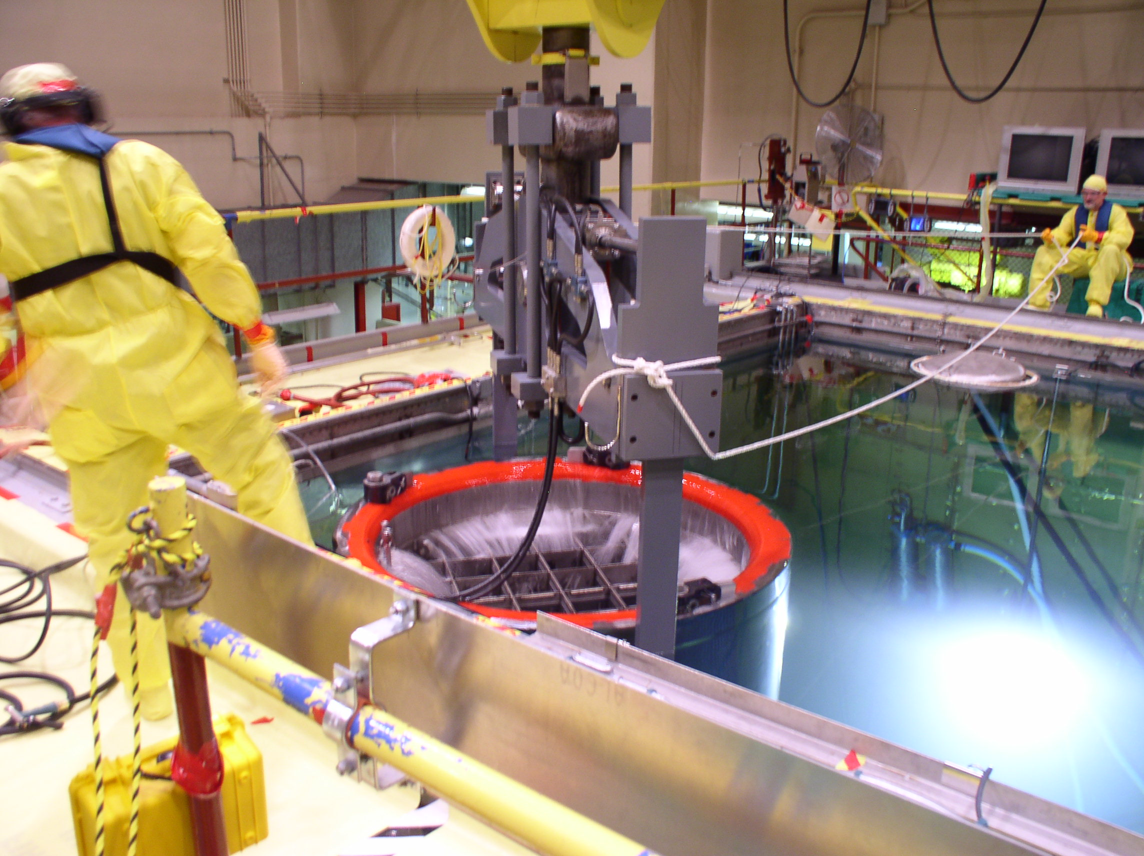 nuclear fuel storage