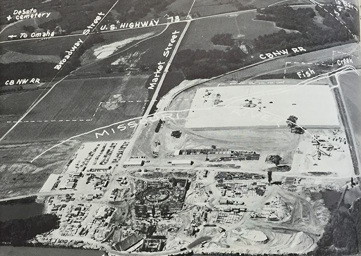 History of Fort Calhoun Station site