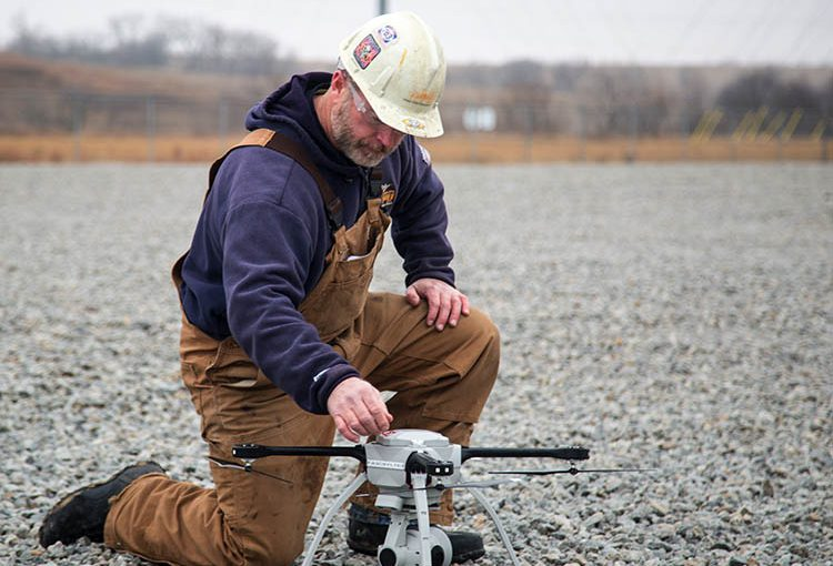 Drone technology now aiding OPPD in inspections