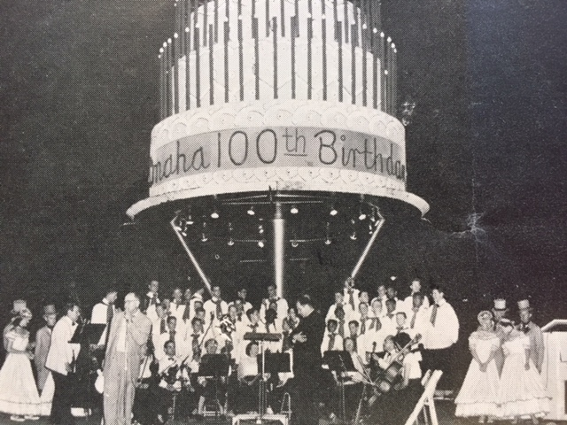 OPPD singers took the stage when Omaha turned 100