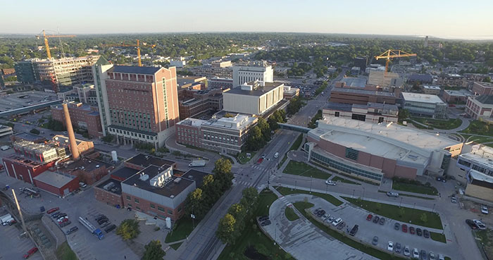Large UNMC expansion means less energy? You bet