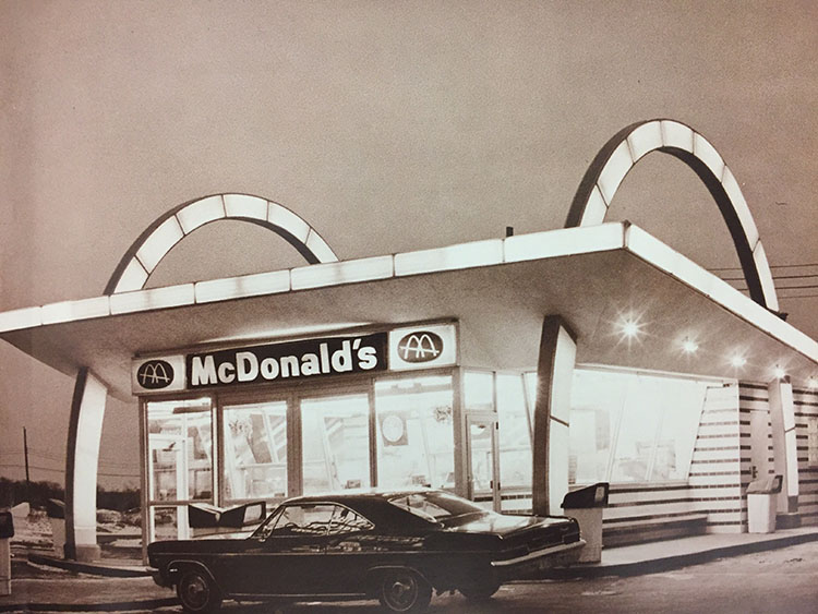 McDonadl's flash back