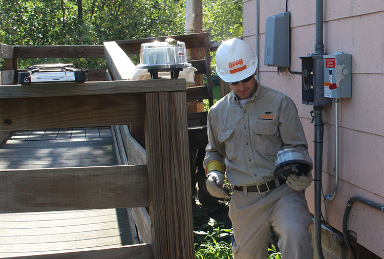 metering services at OPPD