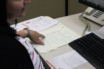 T&D_Substation Protection_Shonda at desk