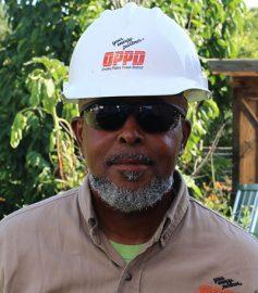 metering services employee Bruce Greene