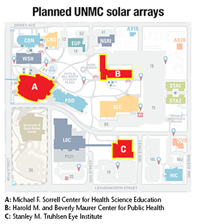 C&I_UNMC Solar_campus map