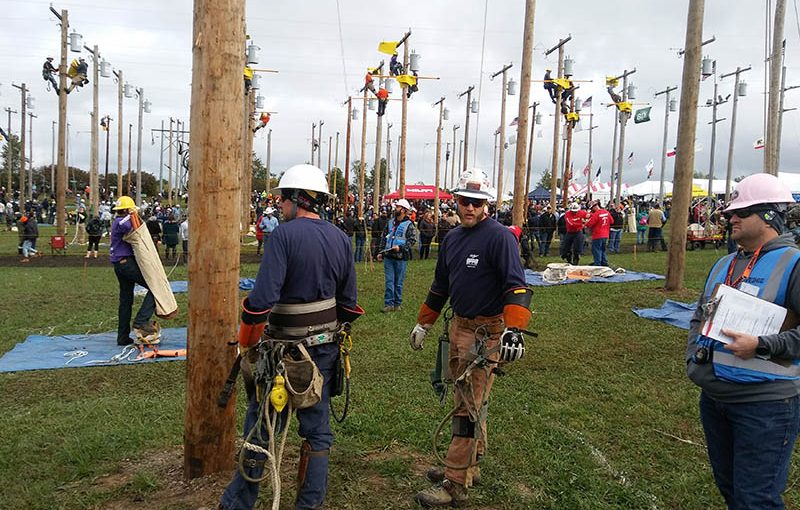 Photo gallery: Lineman 'rodeo' showcases skills