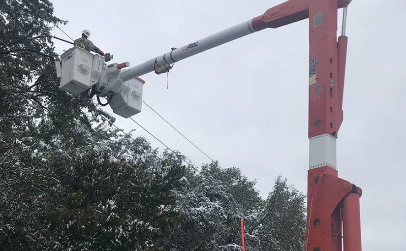 Early snow spikes outages, tests lessons learned