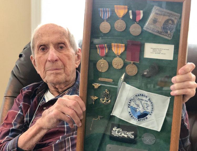 Pearl Harbor survivor Ed Guthrie