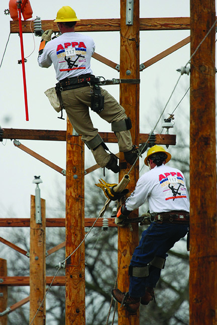 Flashback Oppd Hosted 10th Annual Lineworker Rodeo The Wire