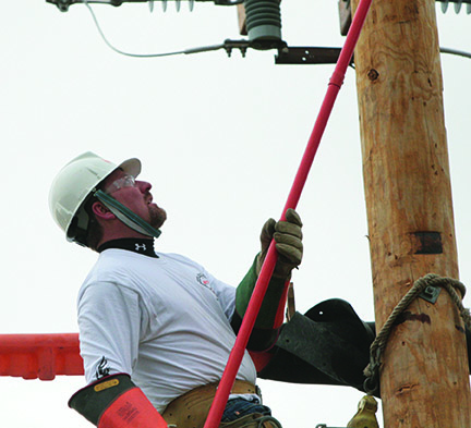 OPPD hosted 2010 lineworker rodeo