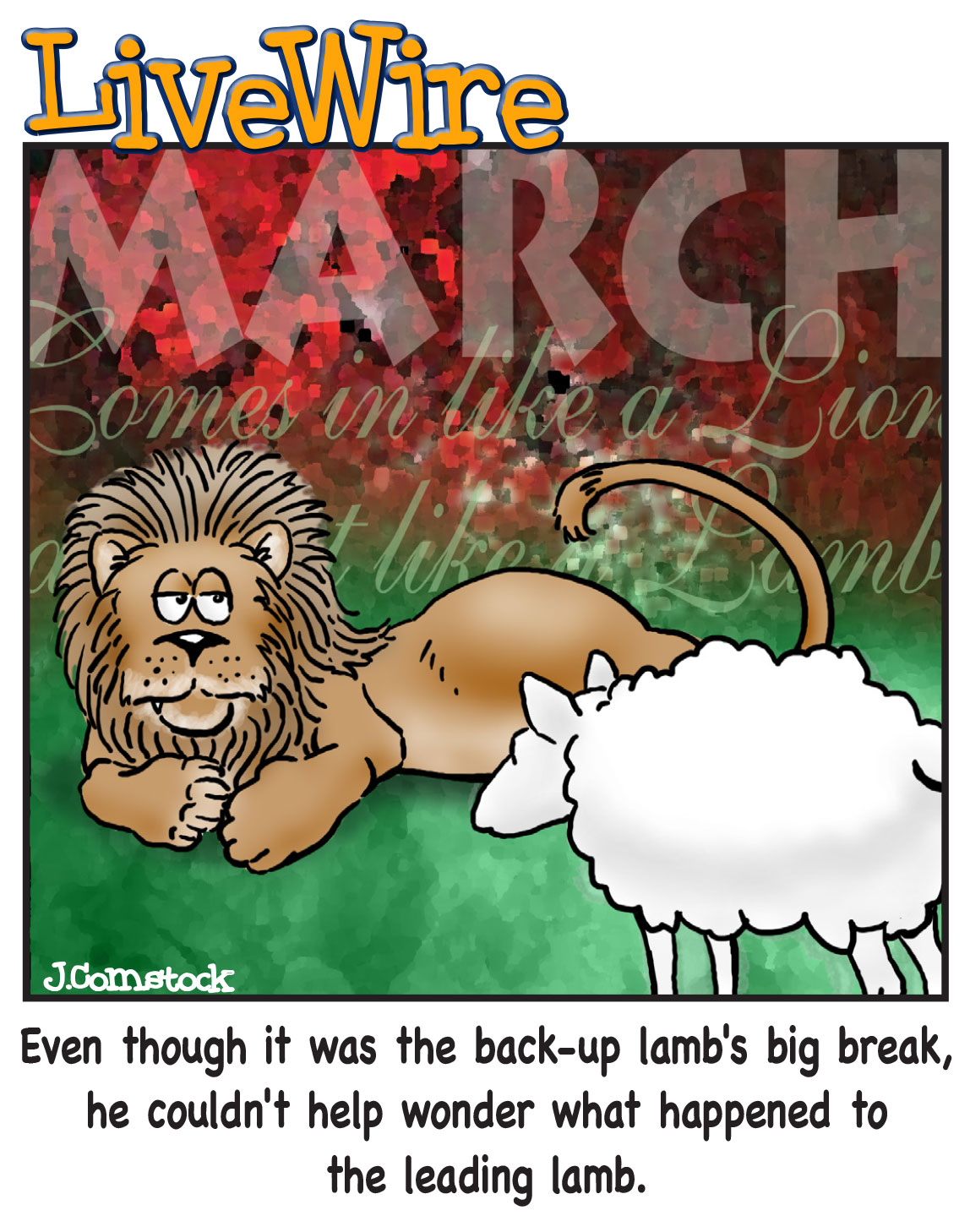 Back-up-lamb
