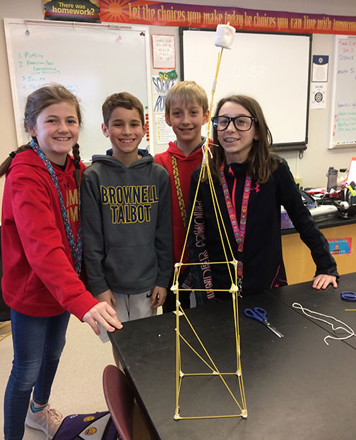 COM_Marshmallow Challenge 2019_ Brownell Talbot 3rd_creative