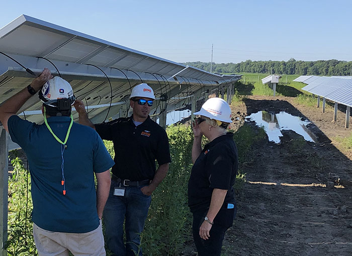 community solar facility