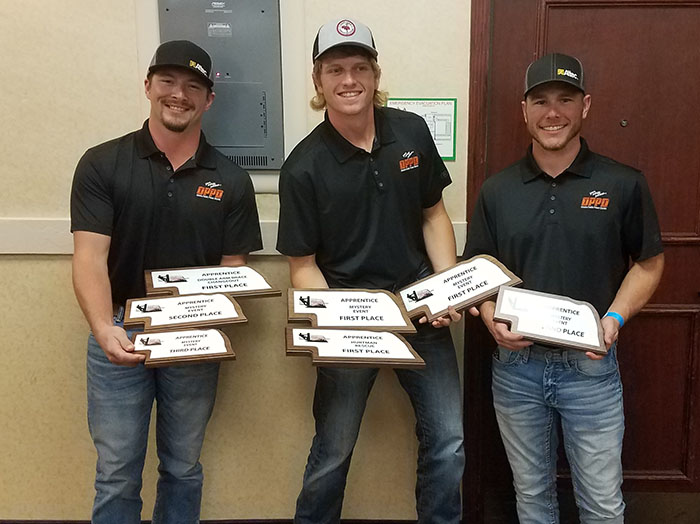 lineworker rodeo, OPPD award winners