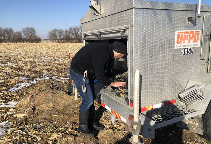 geothermal testing in Nebraska