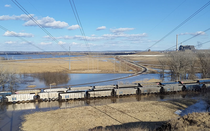 Eastern Nebraska flooding in 2019
