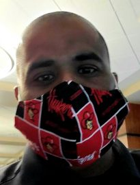 Nitty Gambhir – wearing mask