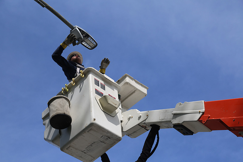 OPPD needs the public to report when a streetlight goes out.